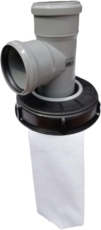 FN-Technik IBC coperchio filtro acqua piovana coperchio DN 150 HT DN 75 feltro