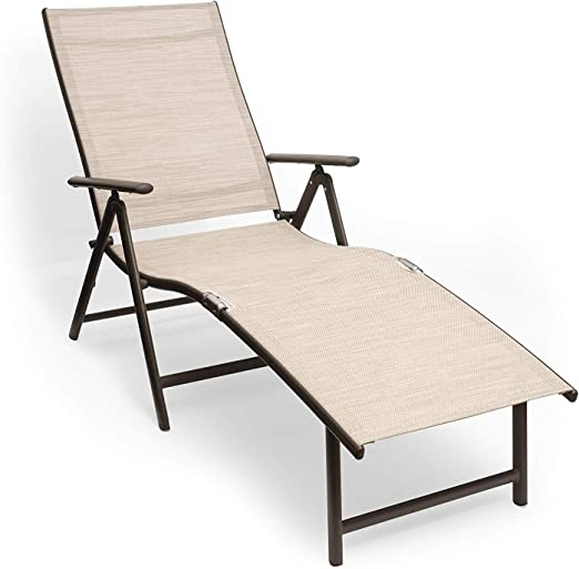 Kozyard Cozy Aluminum Beach Chaise Lounge Chair - The Best Outdoor Lounge Chairs