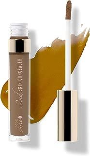 product image for 100% PURE 2nd Skin Concealer (Fruit Pigmented), Shade 7, Full Coverage, Lightweight, Liquid Concealer for Face, Under Eyes, Vegan Makeup (For Deep Skin w/Cool-Neutral Undertones) - 0.17 Fl Oz