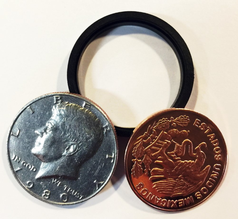 Rock Ridge Scotch and Soda Magic Trick, Coin Deception Game for Kids and Adults