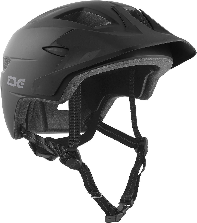 TSG cadeteソリッドカラー - 自転車用ヘルメット サテンブラック
