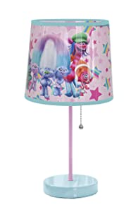 Dreamworks Trolls Table Lamp Pink