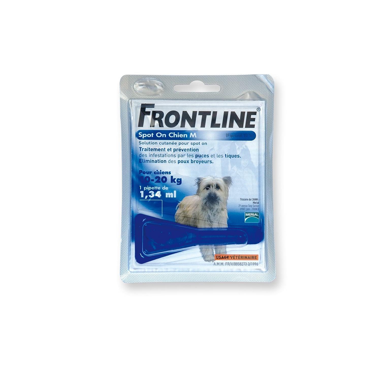 FRONTLINE Spot-on Chien - Anti-puces et anti-tiques pour chien - 20-40kg - 6 pipettes 1180