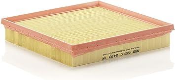 Original Mann Filter Luftfilter C 2493 Für Pkw Auto