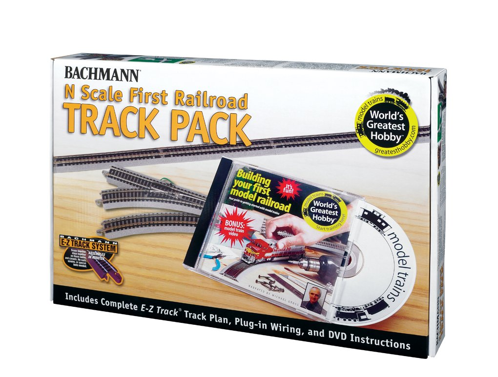 Amazon.com: Bachmann World's Greatest Hobby Track Pack N Scale: Toys & Games