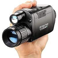 Braveking1 Digital WiFi Monocular Visión Nocturna 3.5-10x32mm Zoom Alcance Visual de 984 pies/300M Infrarrojo Caza…