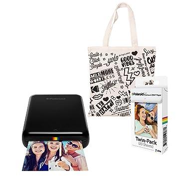 Polaroid Zip Impresora de Fotos Inalámbrica (Negro) Kit de ...