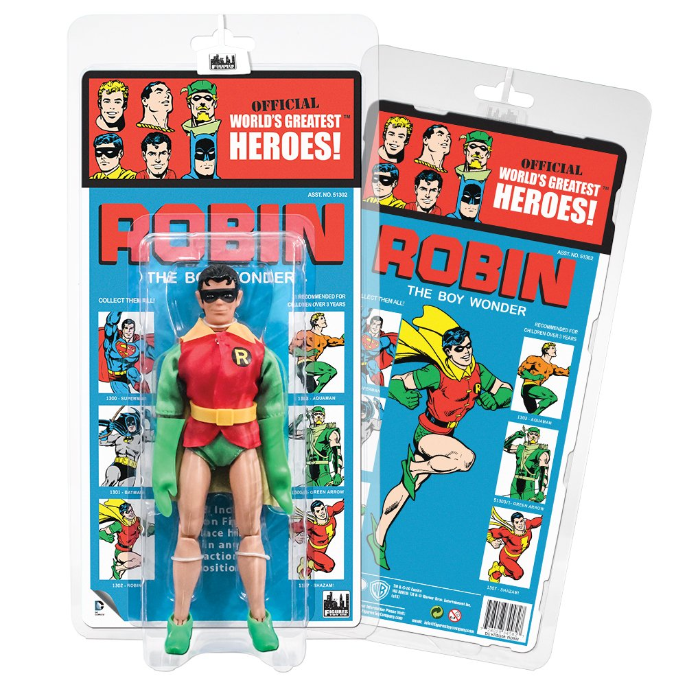 DC Comics Retro Kresge Style Action Figures Series 3: Robin by Figures Toy Company