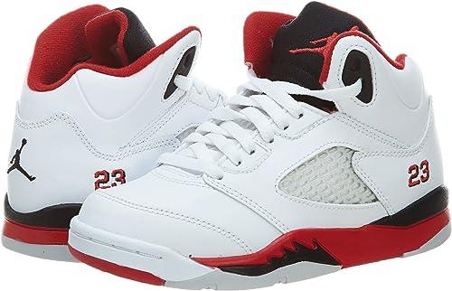 Nike Jordan – Air Jordan 5 Retro BG Zapatillas de Baloncesto ...