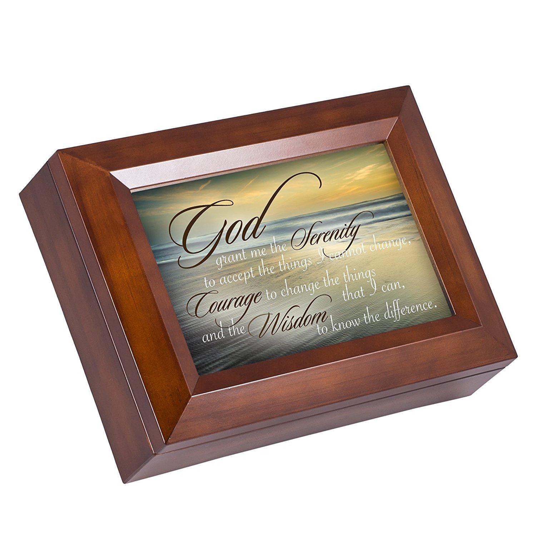 新しいスタイル Serenity Sunshine Prayer Ocean Waves木製仕上げジュエリー音楽ボックスPlays Prayer You My Are My Sunshine B01FYD93XC, 子供服サーカス:15290fc2 --- arcego.dominiotemporario.com