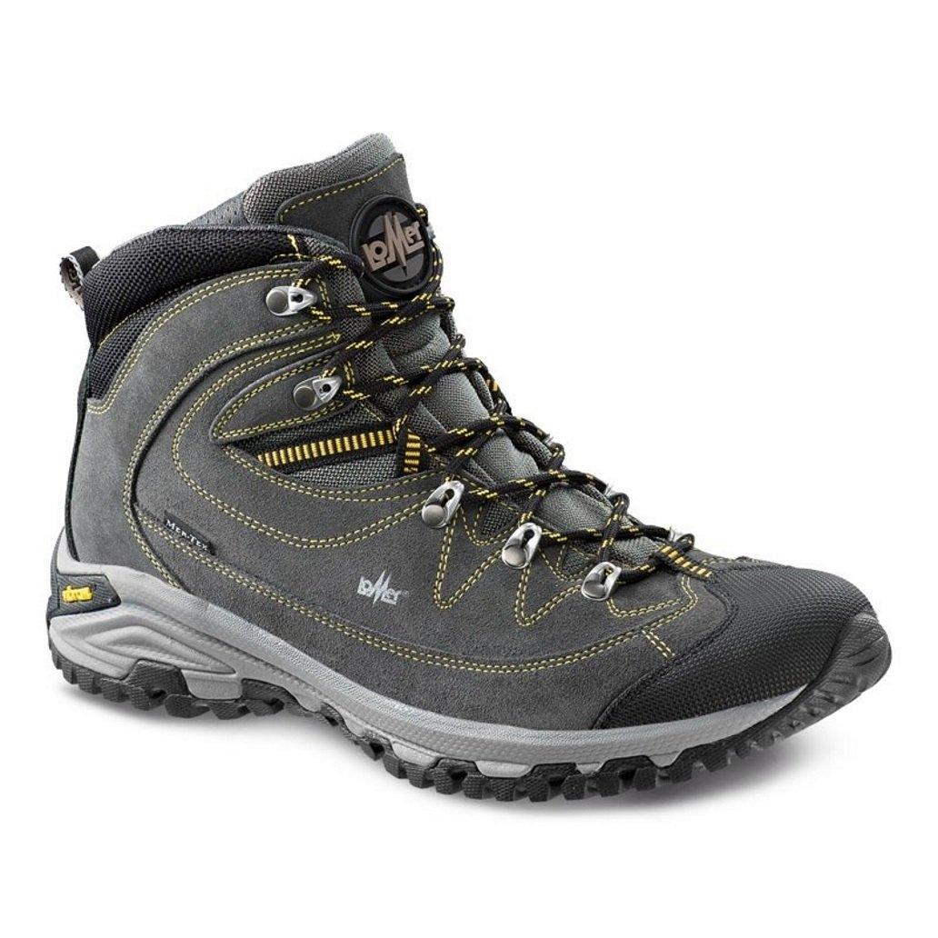 LOMER - Zapatillas de Nordic Walking para Hombre 45 EU|Gris Oscuro
