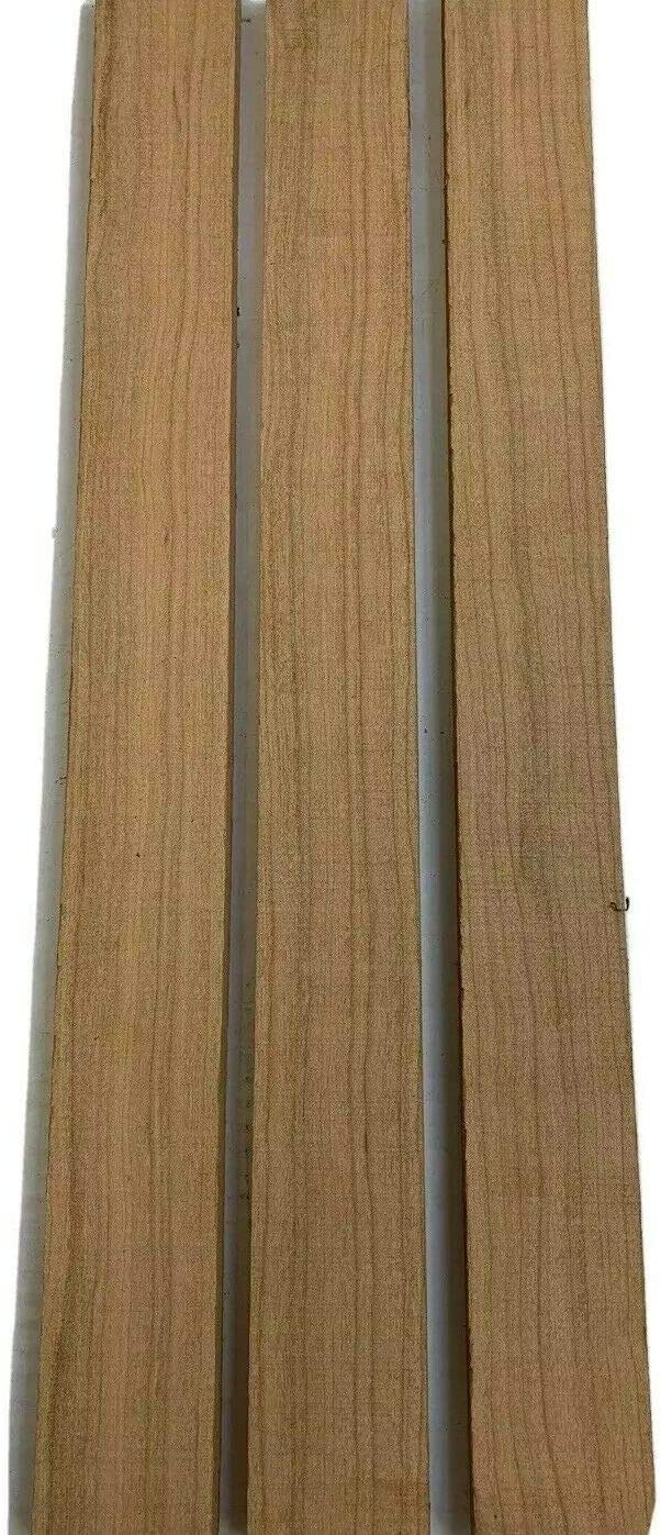 Suitable Thin Stock Lumber for Wood Crafting and Wood Working Projects 1 x 1-1//2 x 16 Pack of 3 American CherryThin Lumber Board