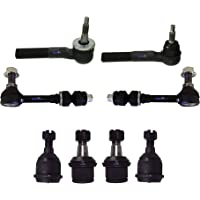 Toyota Yaris 2007-2008 Tie Rod End Sway Bar Link Front Kit 6Pc Right Left