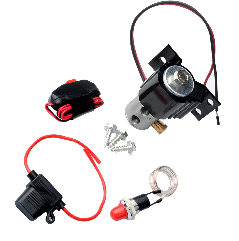 Espeeder Line Lock Brake Roll Control Electric Kit Jegs Wiring Diagram Hill Holder Black Automotive