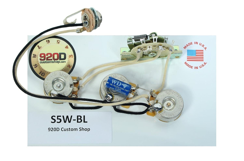 920d Fender Strat Stratocaster Wiring Harness Blender 5way Kit Crl Switch Cts Pots Pot Pio Gavitt Musical Instruments
