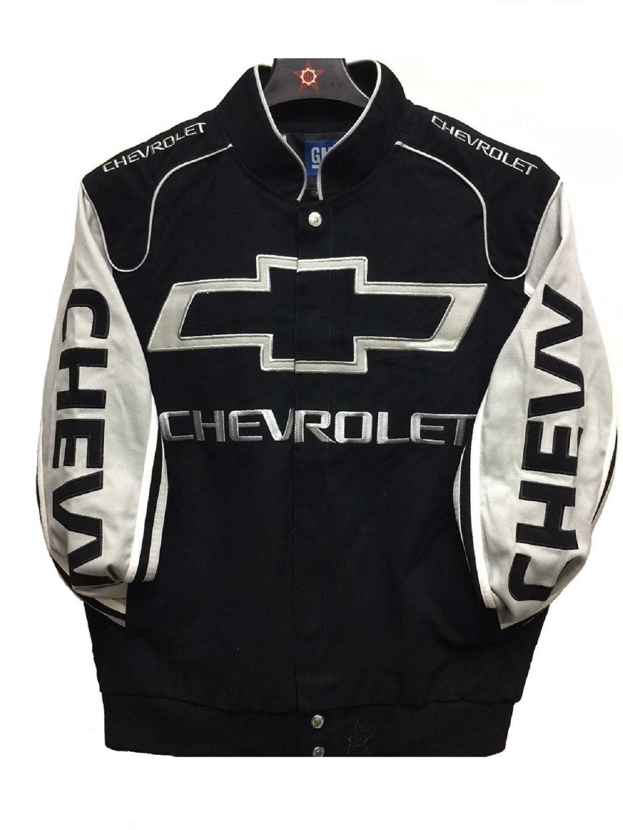 2017 Chevy Racing Cotton Jacket Jh Design Size Large