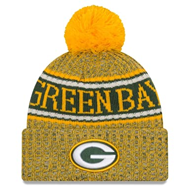 New Era NFL Green Bay Packers 2018 Sideline Reverse Sport Knit   Amazon.co.uk  Sports   Outdoors 5ef0e4a0f