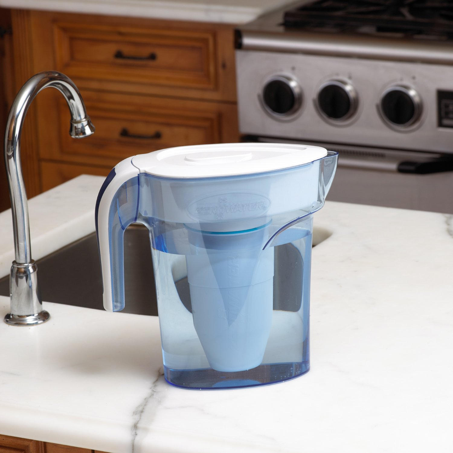 Amazon.com: ZeroWater, 6 Cup Pitcher with Free Water Quality Meter ...