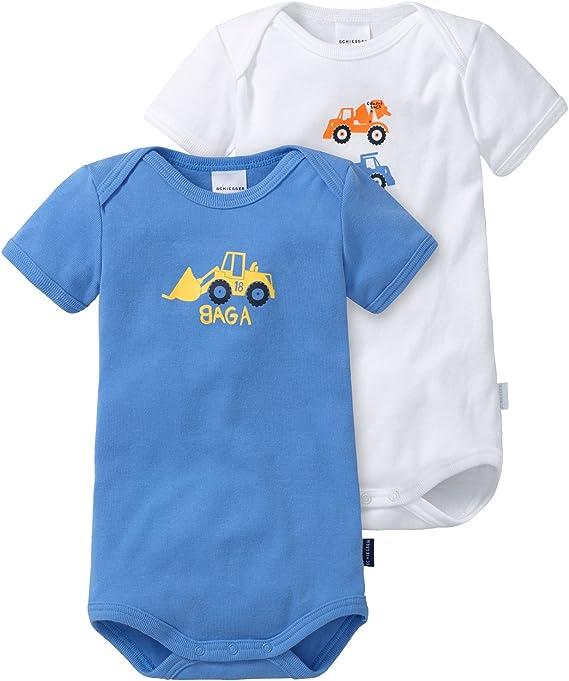 Schiesser Baby-Jungen Body