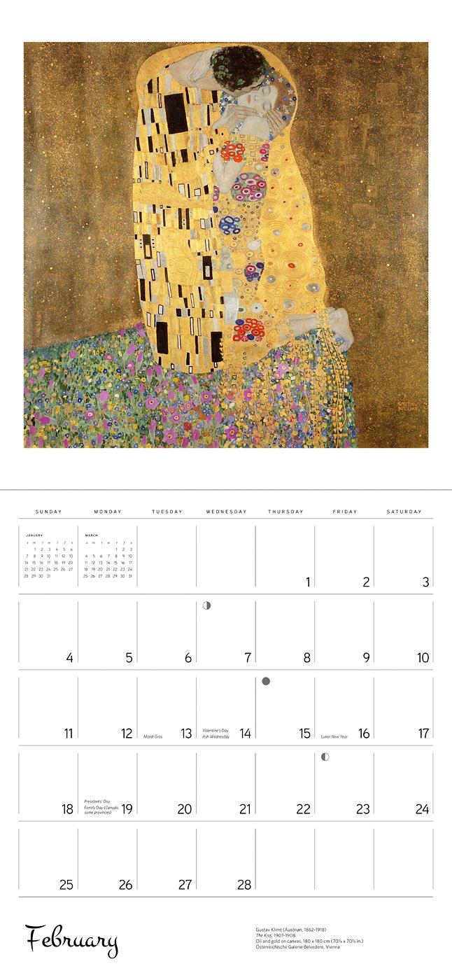 Gustav Klimt 2018 Wall Calendar: Gustav Klimt: 9780764976773: Amazon.com:  Books