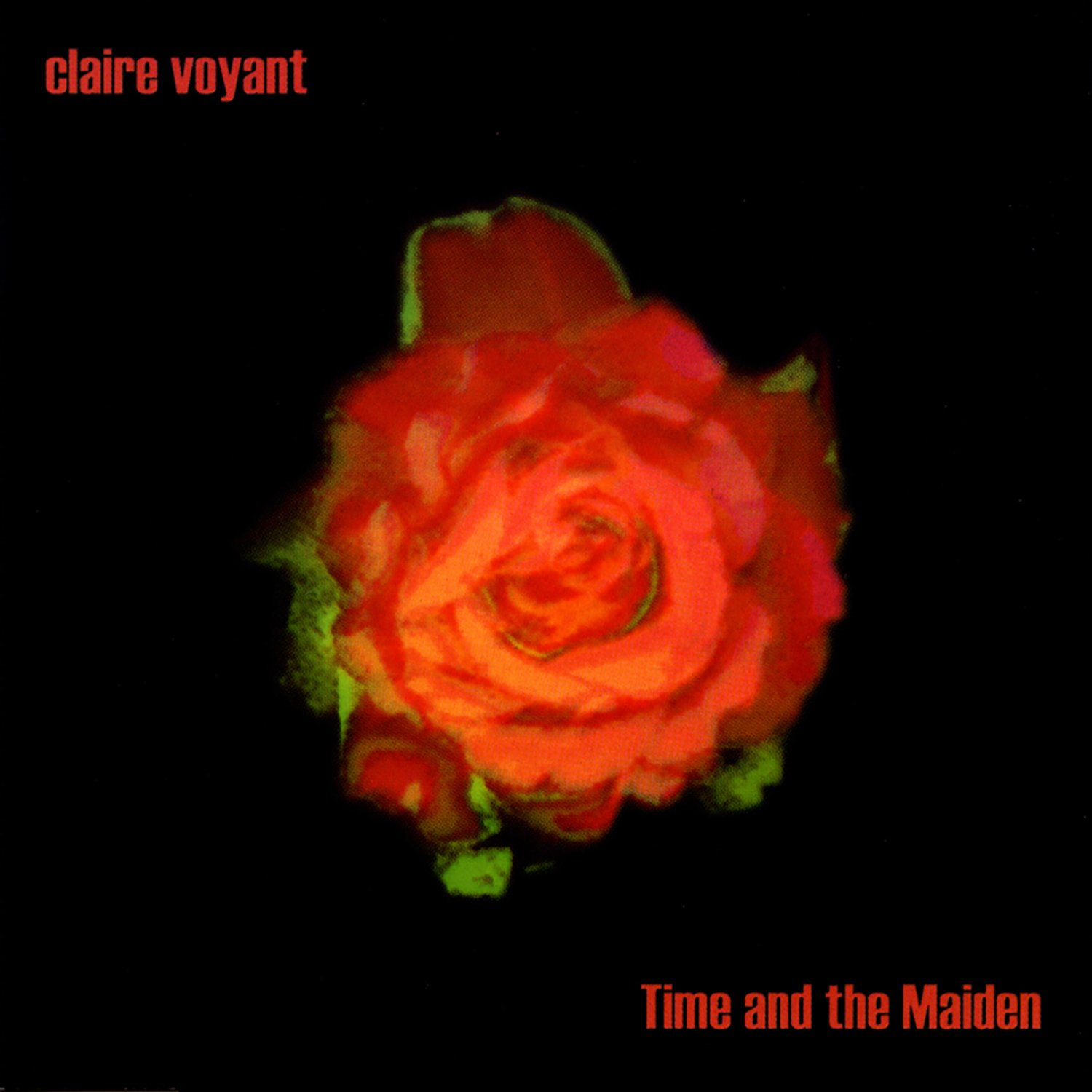 CD : Claire Voyant - Time and The Maiden (CD)