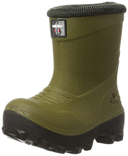 Viking Unisex-Kinder Frost Fighter Schneestiefel, Grün (Olive/Black), 29 EU