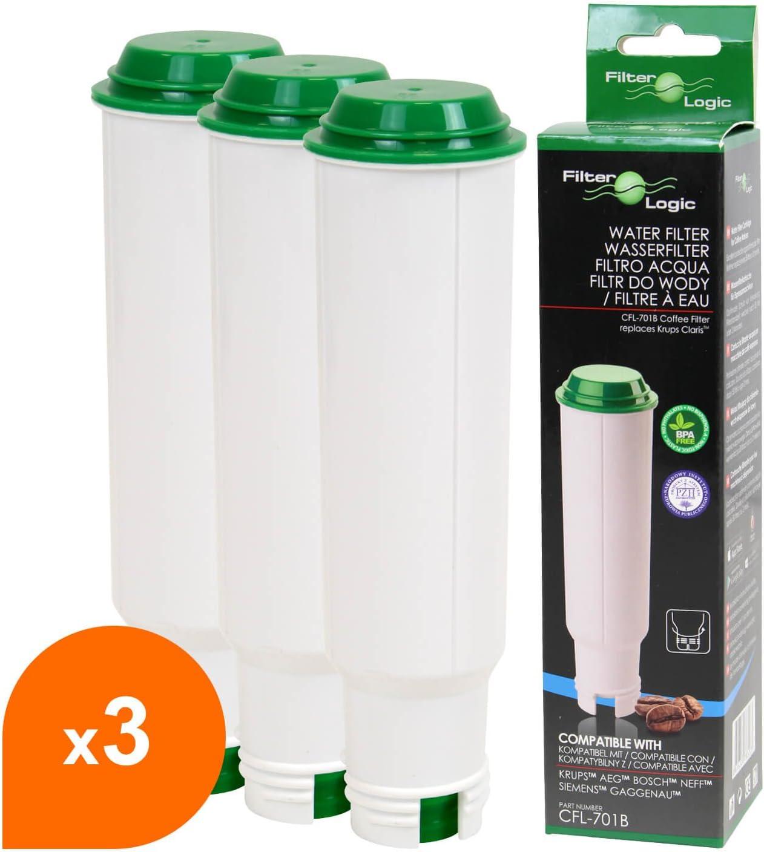 4 X Krups Filtre Cartouche f088 01 Claris Filtre pour le réservoir d/'eau