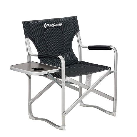 KingCamp - Silla Plegable de Acampada (Aluminio): Amazon.es ...