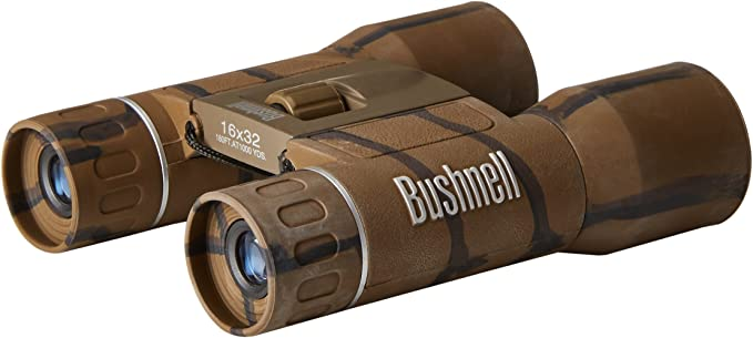 Best Hunting Binoculars :  Bushnell Powerview Compact Folding Roof Prism Binocular