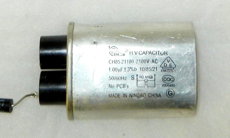 recertificación bicai CH85 – 21100 – 2100 V-AC 1.00uf microondas ...