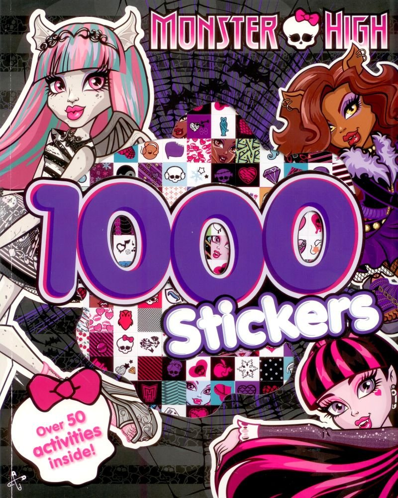 Uncategorized Monster High Activity Book monster high activity book with 1000 stickers amazon co uk toys games