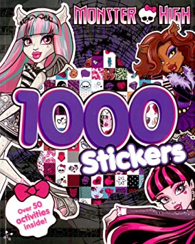 Monster High Activity Book With 1000 Stickers