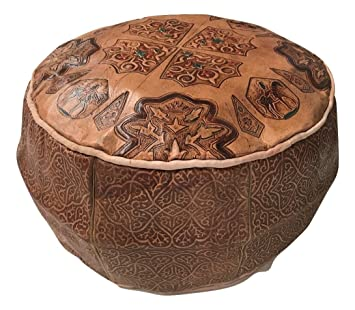 Sitzsack Puff Pouf Puf Marokko Marokkanisches Echt Leder Leather ...