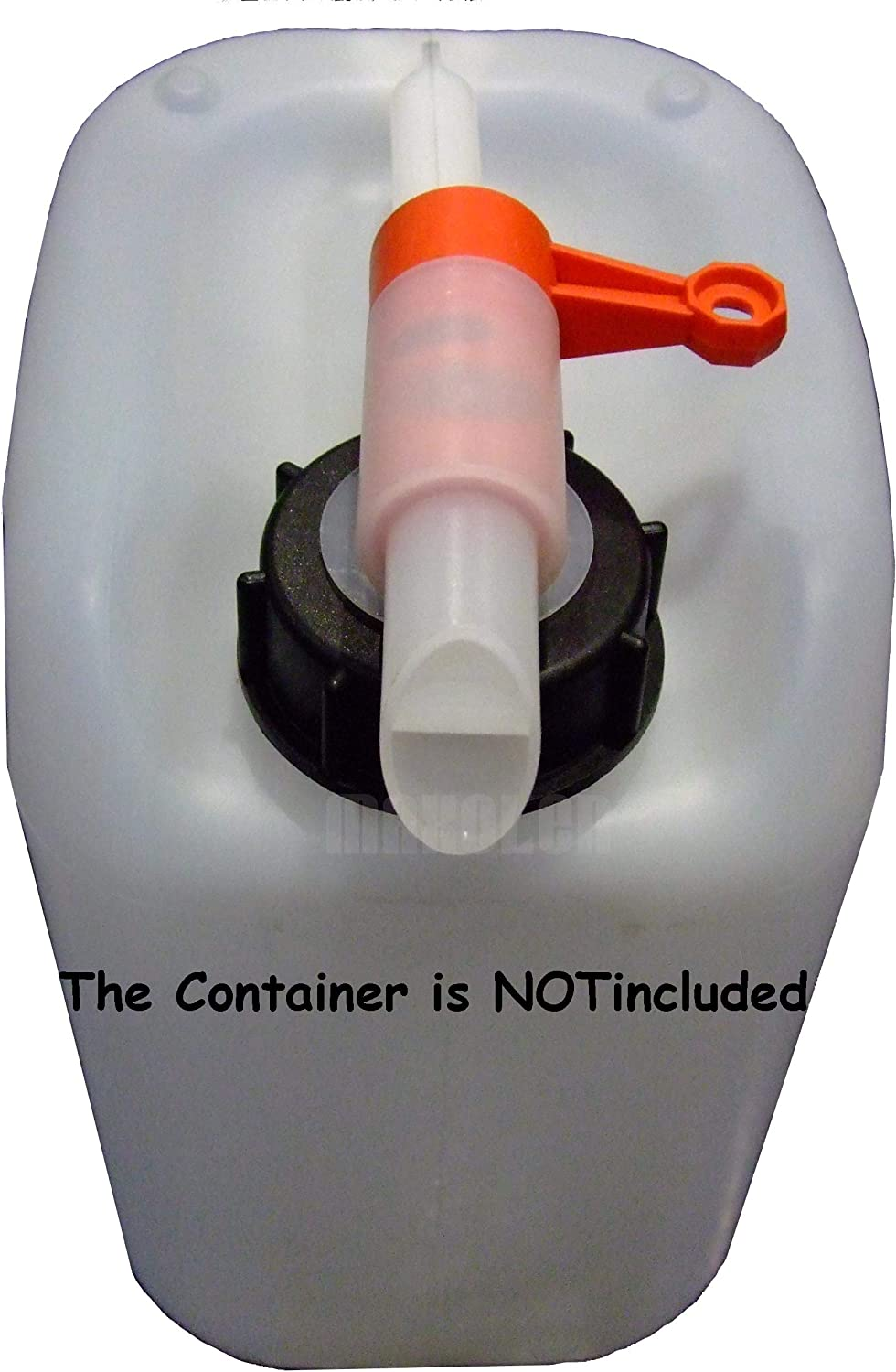 10 5L UN FLUXX Dispensing Tap DIN51 For Water /& Chemical Containers /& Drums 10 Most 51 mm Threads