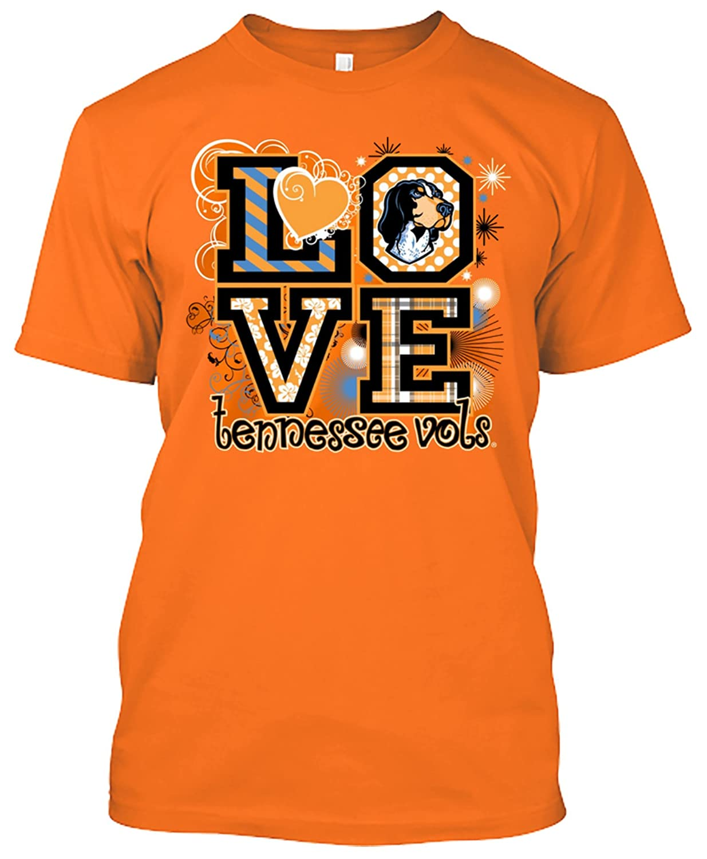 42fd01fc3e79 Amazon.com : New World Graphics NCAA Love T-Shirts - Multiple Teams  Available : Clothing