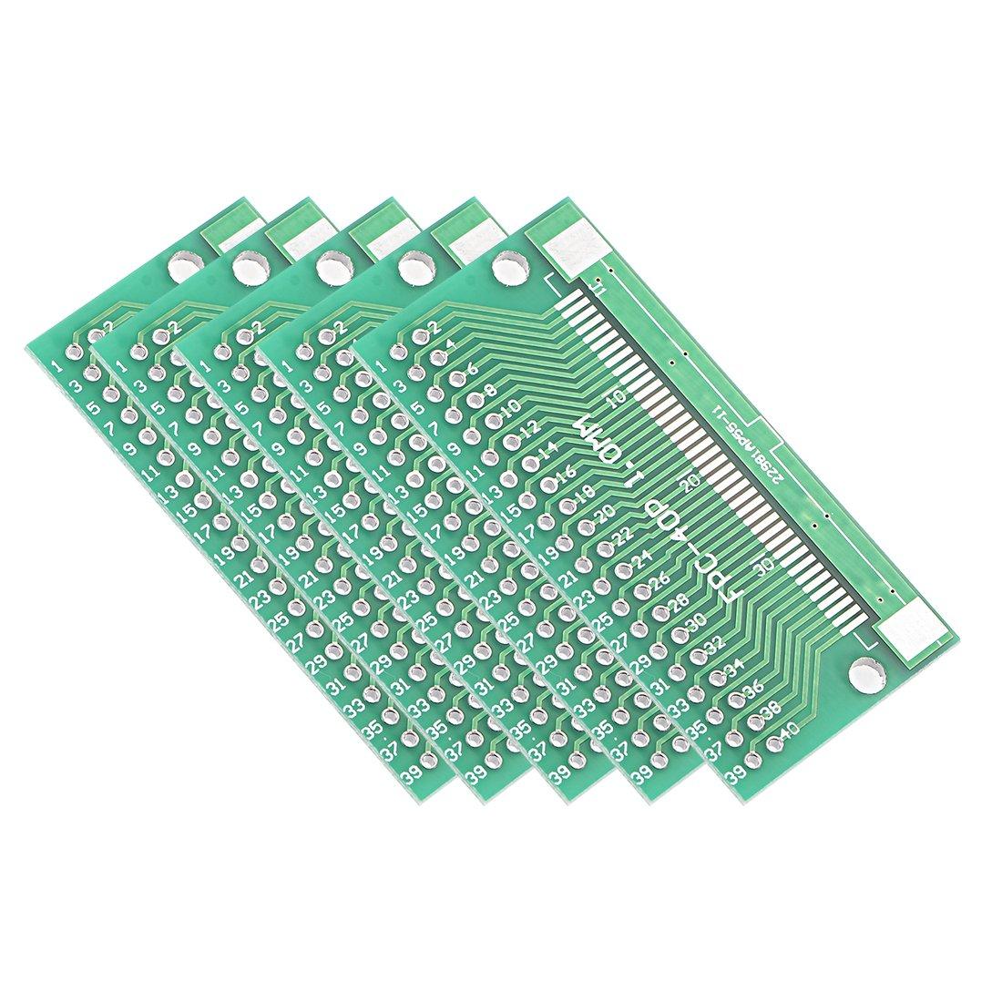 "8Pcs 54 x 26mm//2.1/"" x 1/"" FPC 40Pins Adapter PCB Converter Board"