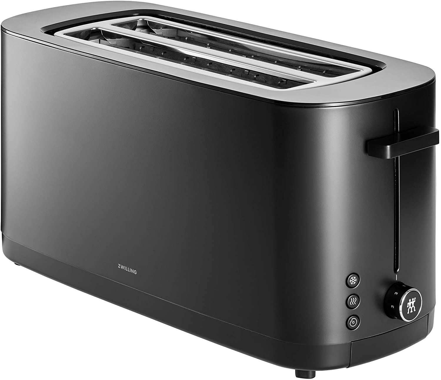 Zwilling Enfinigy 2 Long Slot Toaster, 4 Slices with Extra Wide 1.5