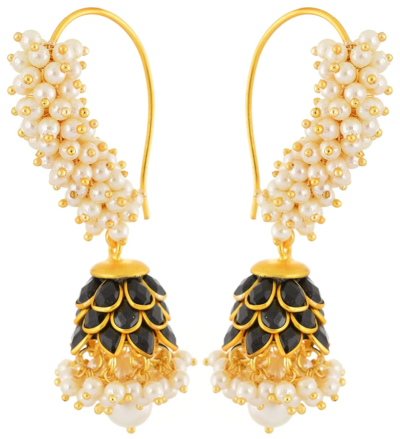rajasthani vinayak view category detail earrings