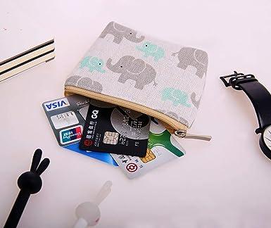 Amazon.com: Skydue Pack de 4 monedas de lona, monedas ...