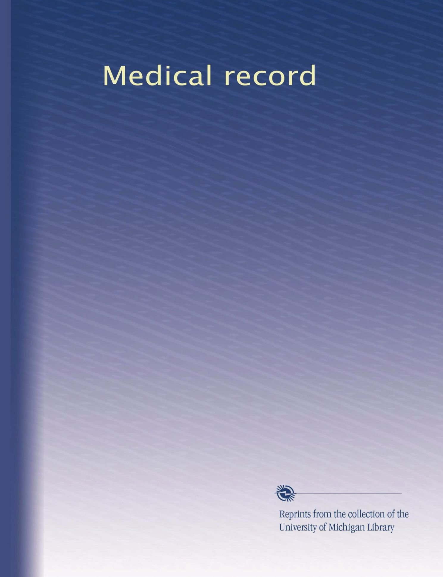 Medical record (Volume 20) pdf epub