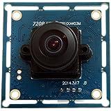 ELP USB Sorveglianza Camera Module con Megapixel HD 170 Gradi Fisheye Grandangolo l'obiettivo per Atm Ncr Robot Chiosco