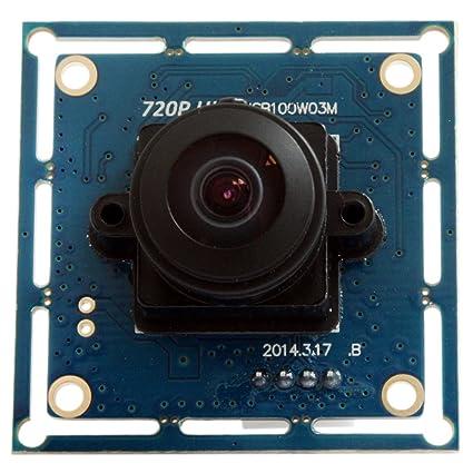 ELP - USB Cámara de vigilancia módulo HD de 170 grados -