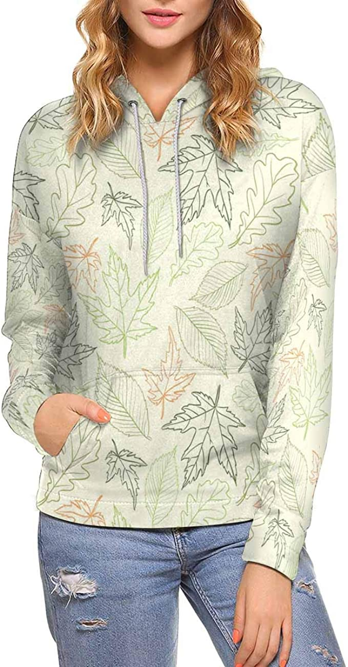 INTERESTPRINT Womens Crew Neck Sweatshirt Beautiful Butterfly Long Sleeve Pullover Tops XS-XL
