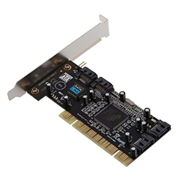 SODIAL Pci Tarjeta Sata I/II Y Software Raid Clase 4: Amazon ...