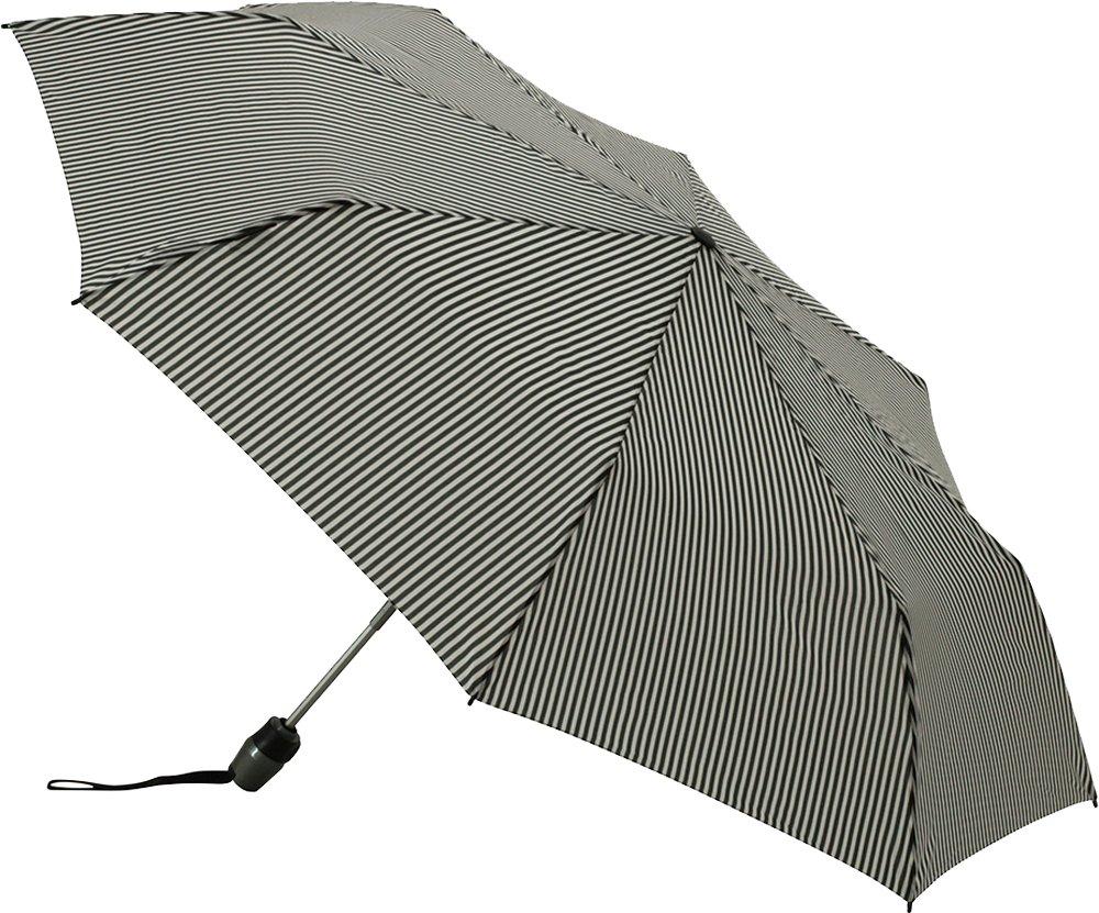 Knirps 折りたたみ傘 ワンタッチ自動開閉式 コンパクト 【正規輸入品】 MediumDuomatic StripeBlack&White KNTL200-2690 B01CN3B2MQ Stripe Black & White Stripe Black & White