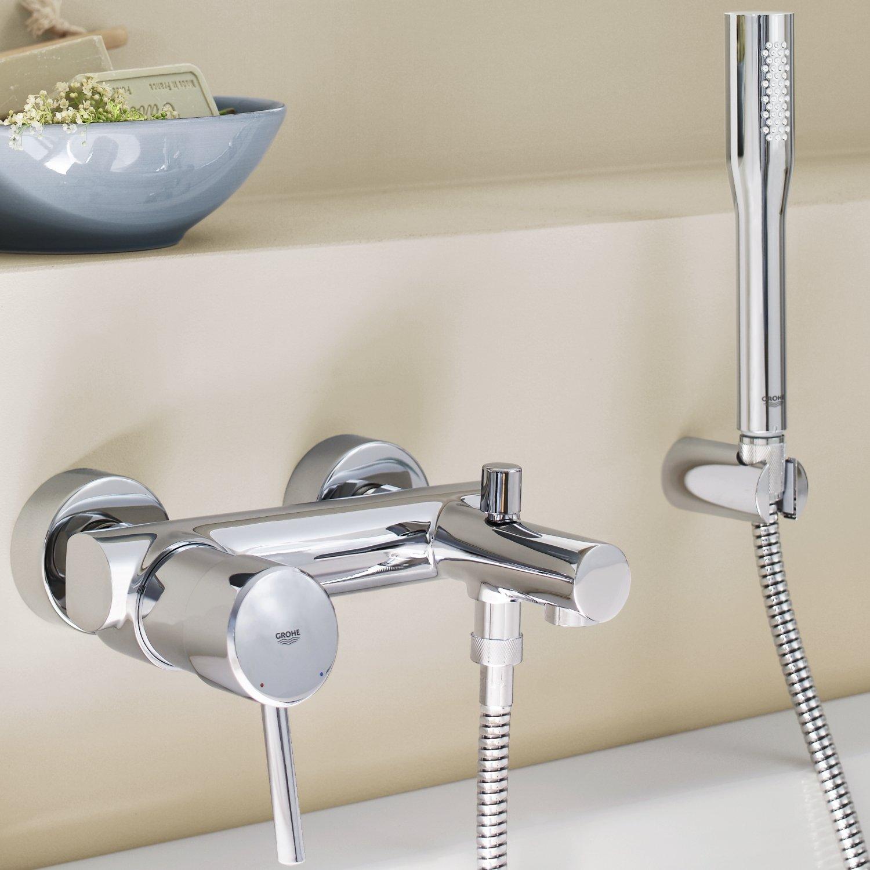 Amazon.com: Grohe Concetto 32212001 1/2-inch Single-Lever Bath ...