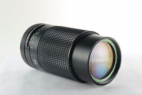 amazon com quantaray 80 200mm f 4 5 mc canon fd manual focus lens rh amazon com Quantaray Filters Quantaray Website