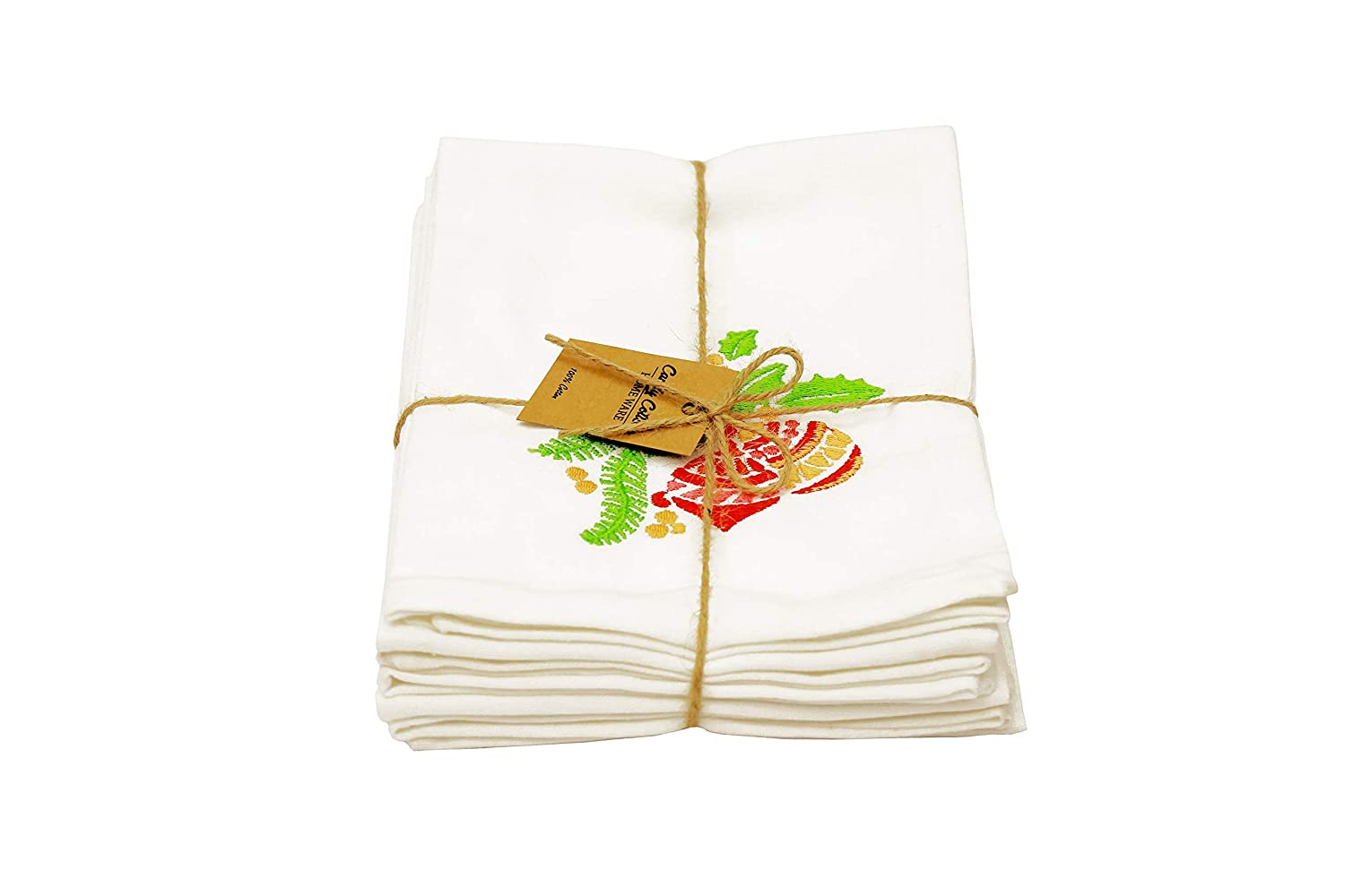 Candy Cottons Kitchen Dish Towels 100/% Cotton Extra Large Tea Towels Pack of 3 Kitchen Towels of Size 18 X 28 Inches for Everyday Kitchen Cooking Orchid Impex Pineapple Printed