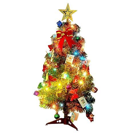 Foto Weihnachtsbaum.Kunstlicher Weihnachtsbaum Outgeek Tannenbaum Christbaum 60cm 24 Grun Weihnachtsbaum Klein Mit Beleuchtung Multicolor Led Und Weihnachtsschmuck