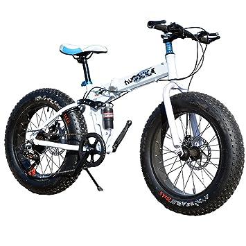 Bicicleta Plegable De La Bicicleta De La Nieve Que Completa Un Ciclo 21 Velocidades 26 Pulgadas